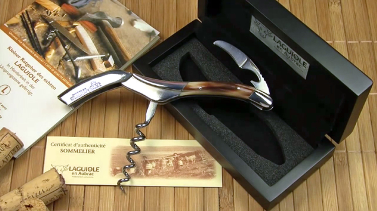 Laguiole Wine Key with Certificate of Authenticity