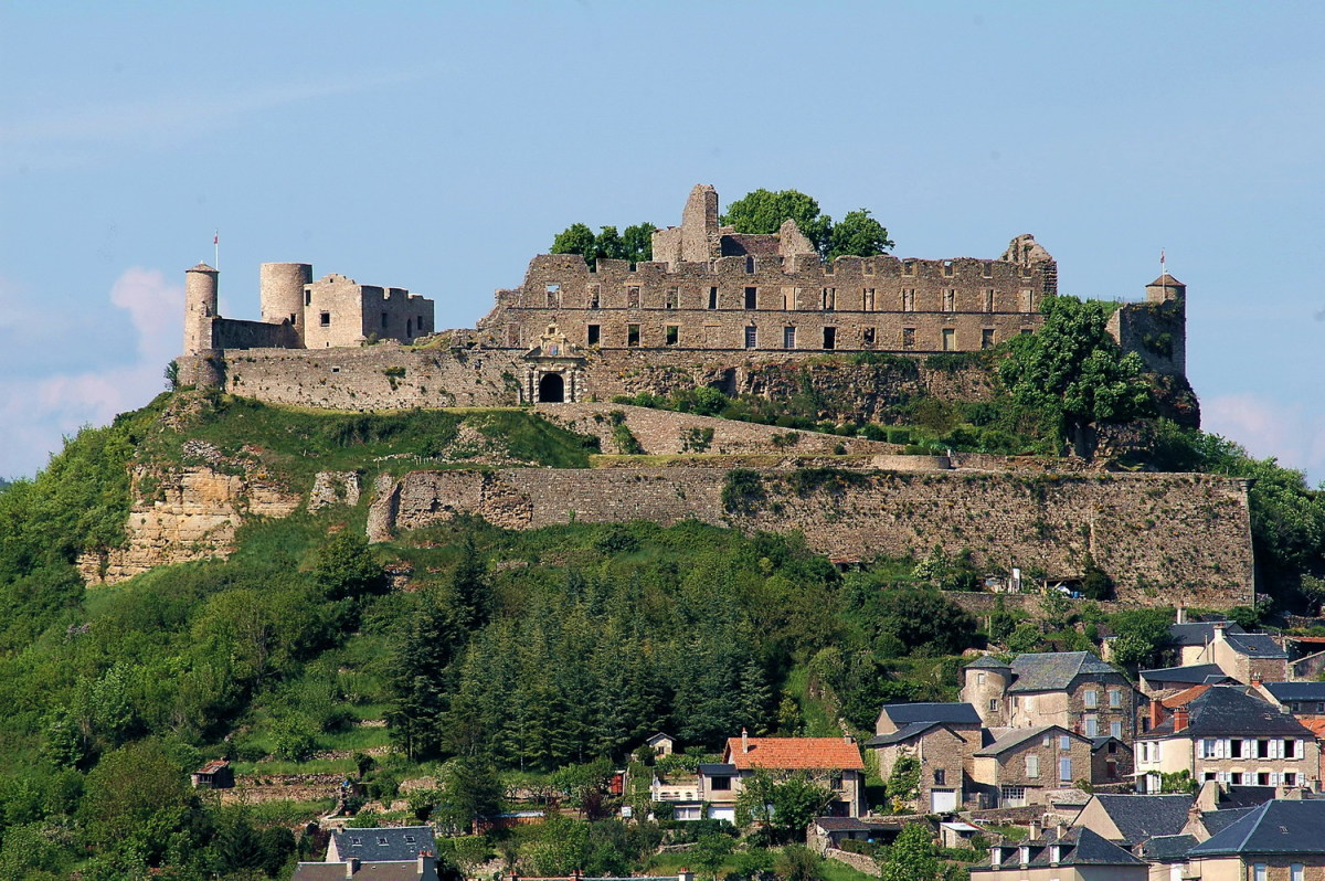Château de Sévérac - in the Aveyron department in southern France