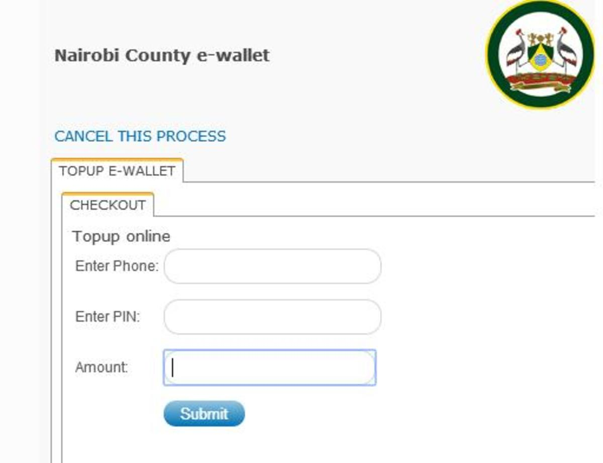 Nairobi County e-wallet