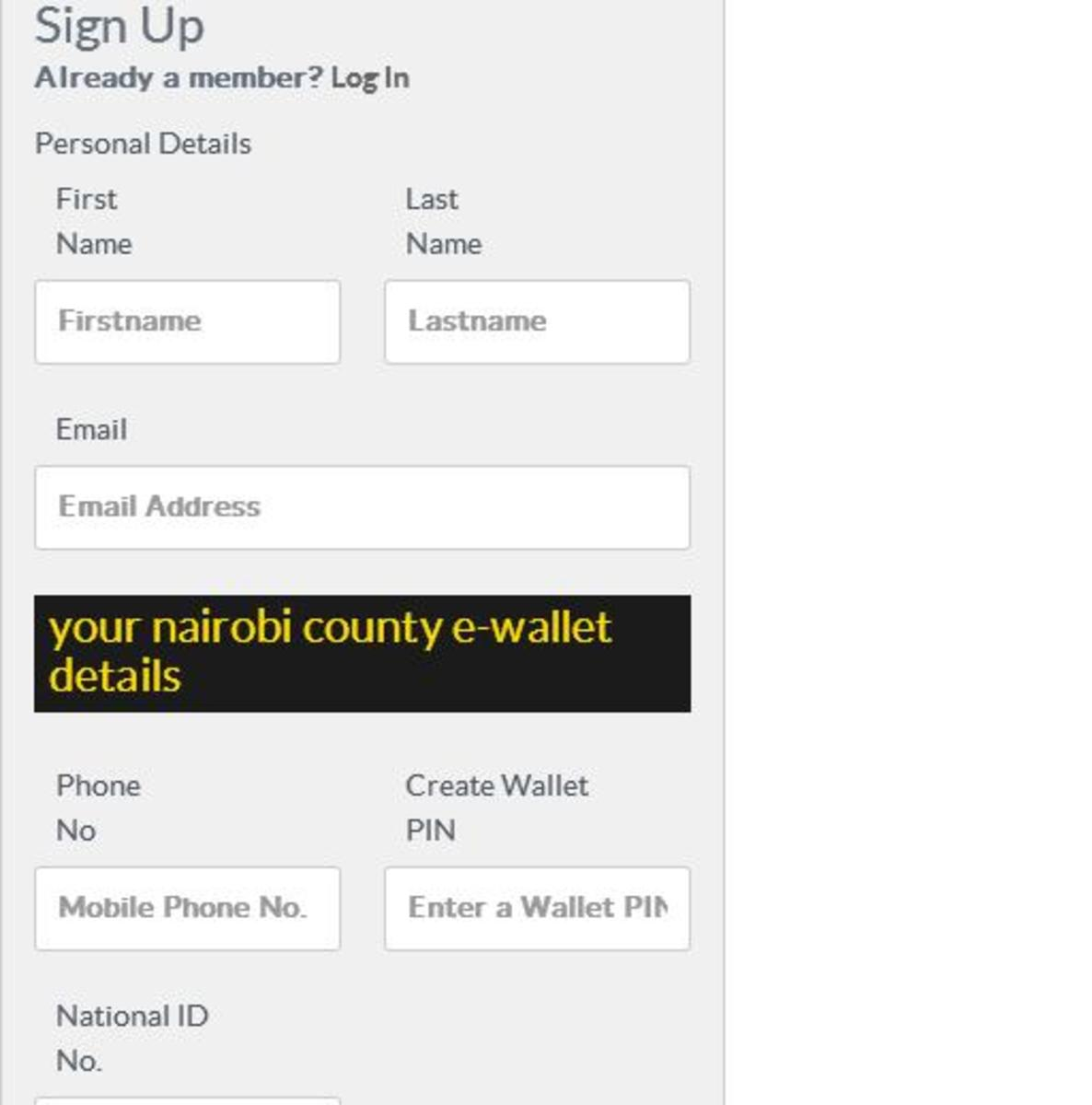 Nairobi County Licenses Renewal Online
