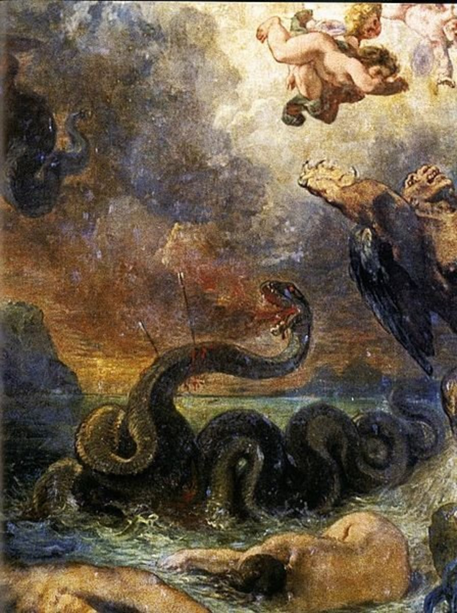 The Python in Greek Mythology