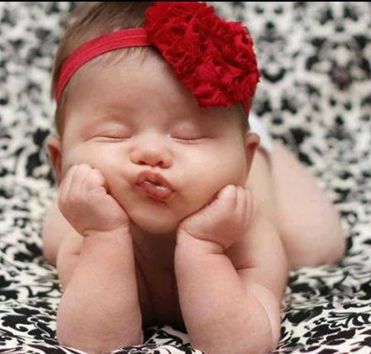 Babies are adorable but this isn't me! :)