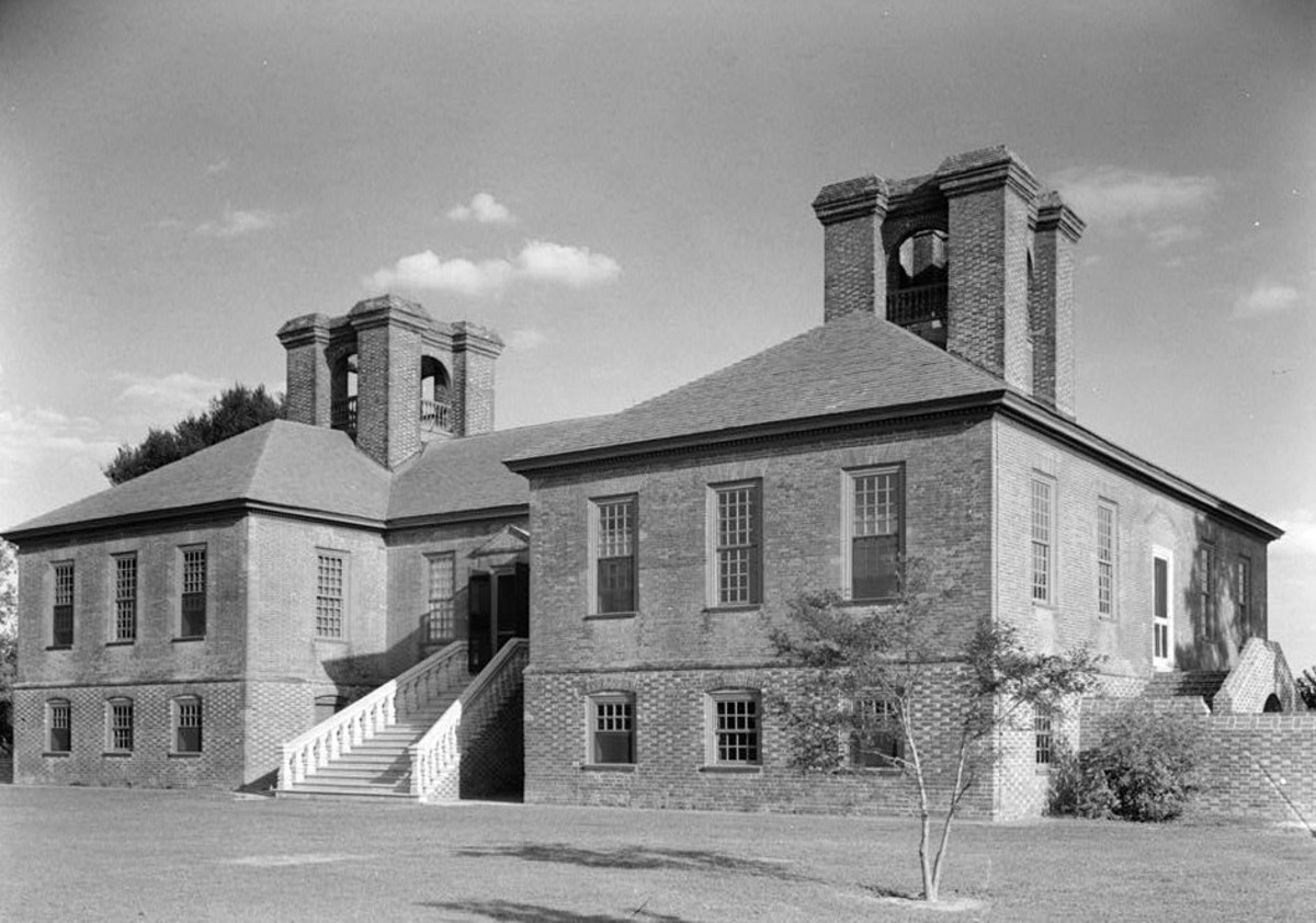 Lee married a wealthy second cousin, Matilda Lee, who inherited Stratford Hall, a red brick plantation house which included more than 2,000 acres on the Potomac River. Lee put heavy chains around doors of the plantation to keep out bill collectors.