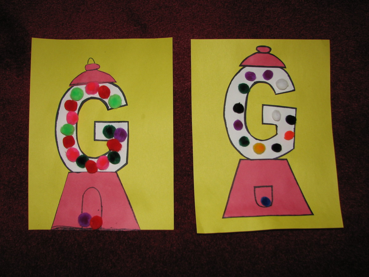 "letter g gumball template  G"" Is For Gumball-Letter ""G"" Activities For Kids 