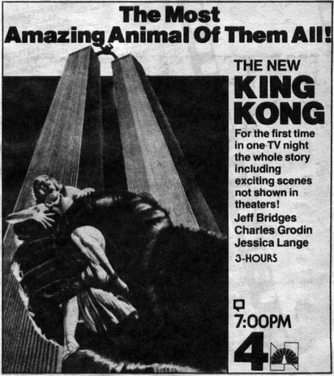 King Kong (1976) Is A Major Television Movie Event And Other Wonders Of The World