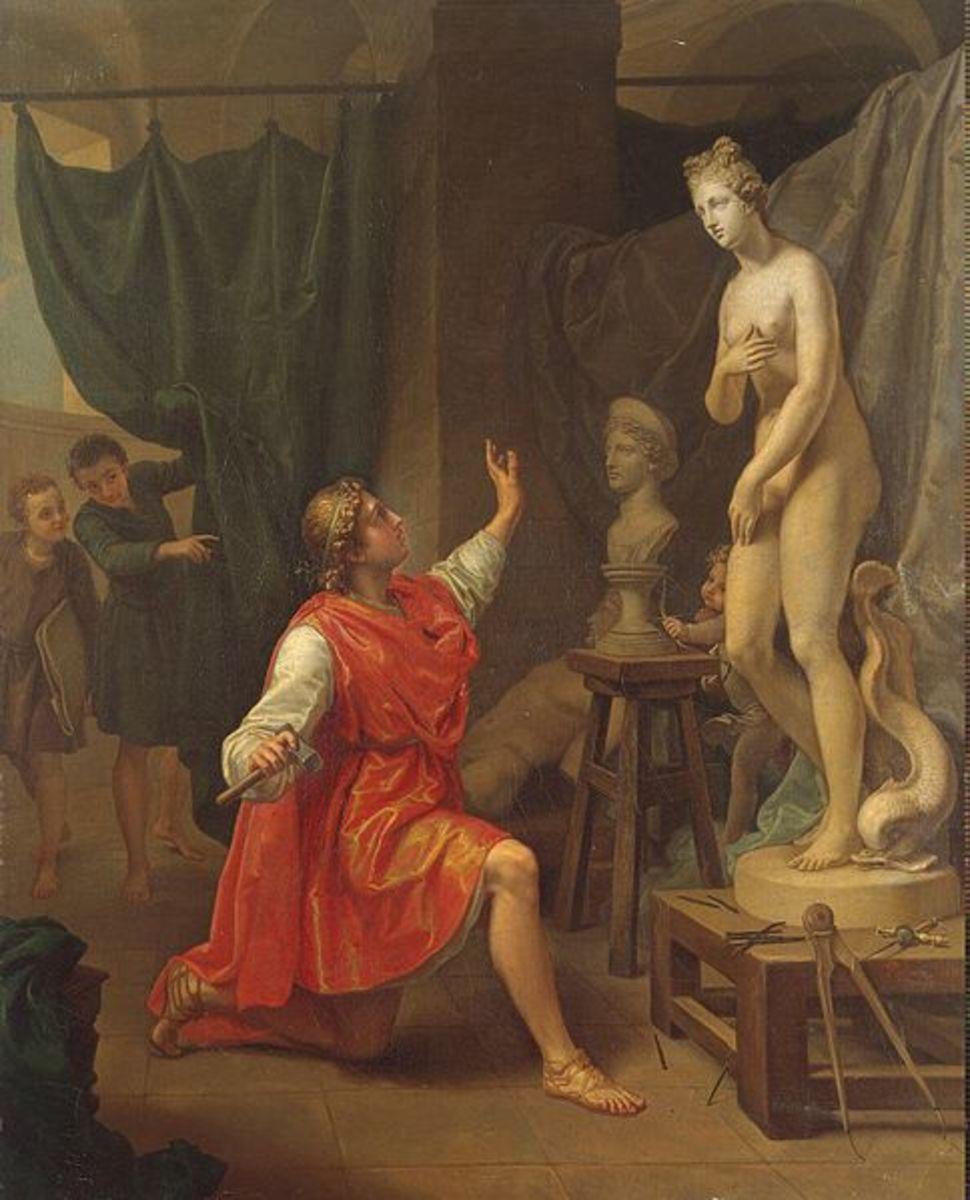 The Story of Pygmalion in Greek Mythology