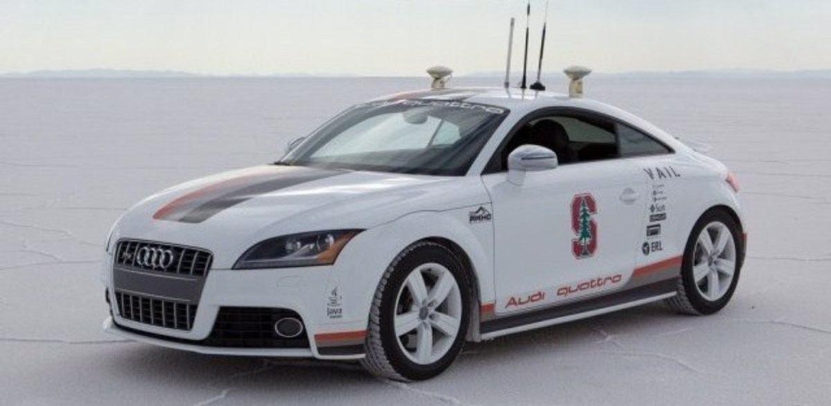 Audi self driving car