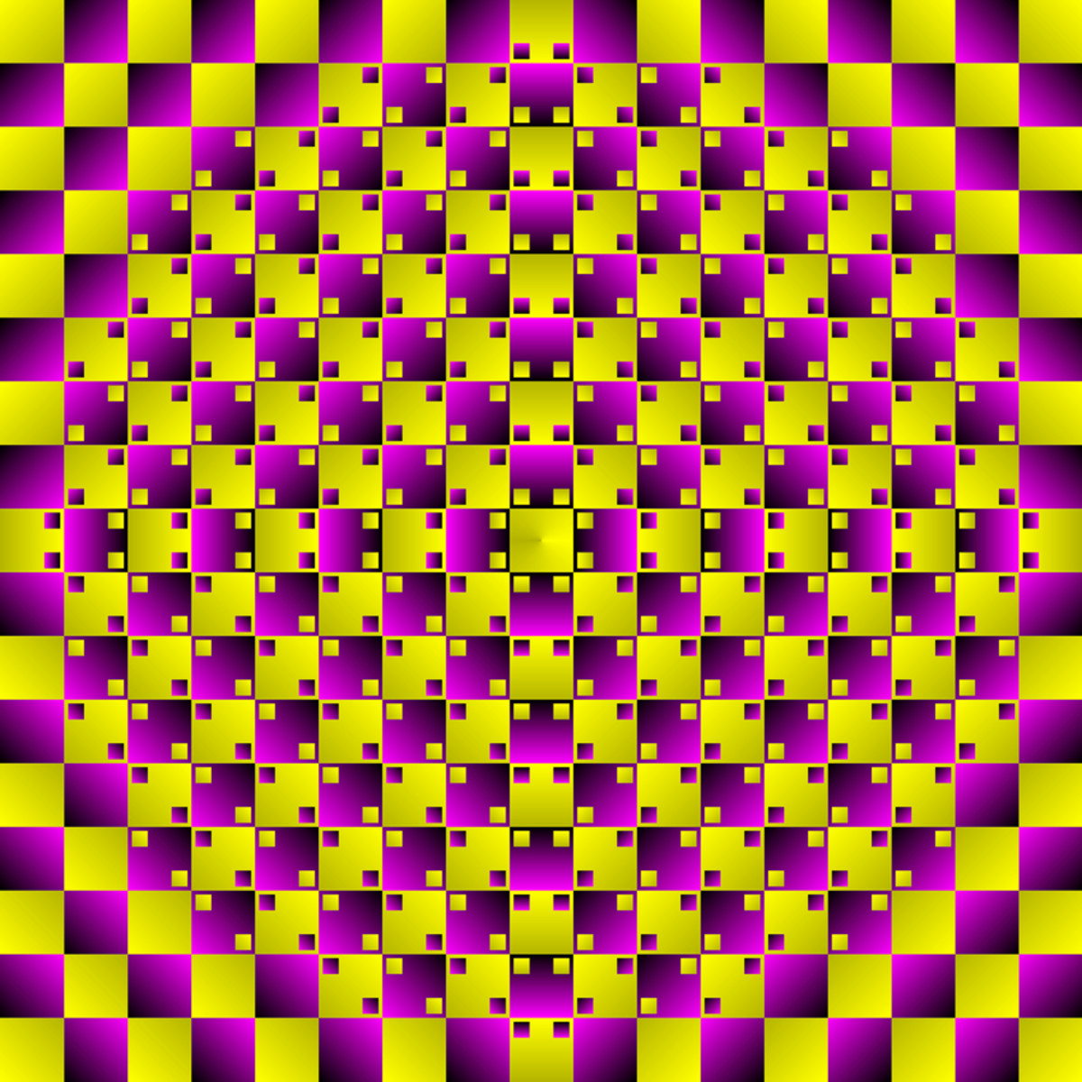 Illusion picture to display self designing web tools.