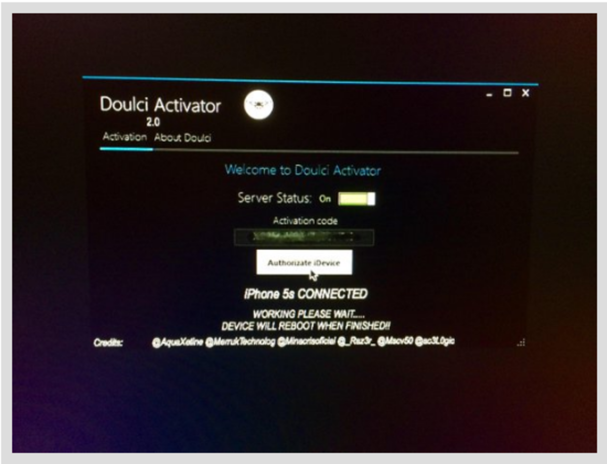 Is it Possible to Bypass The Apple ID Using DoulCi Magic Line in 2017?