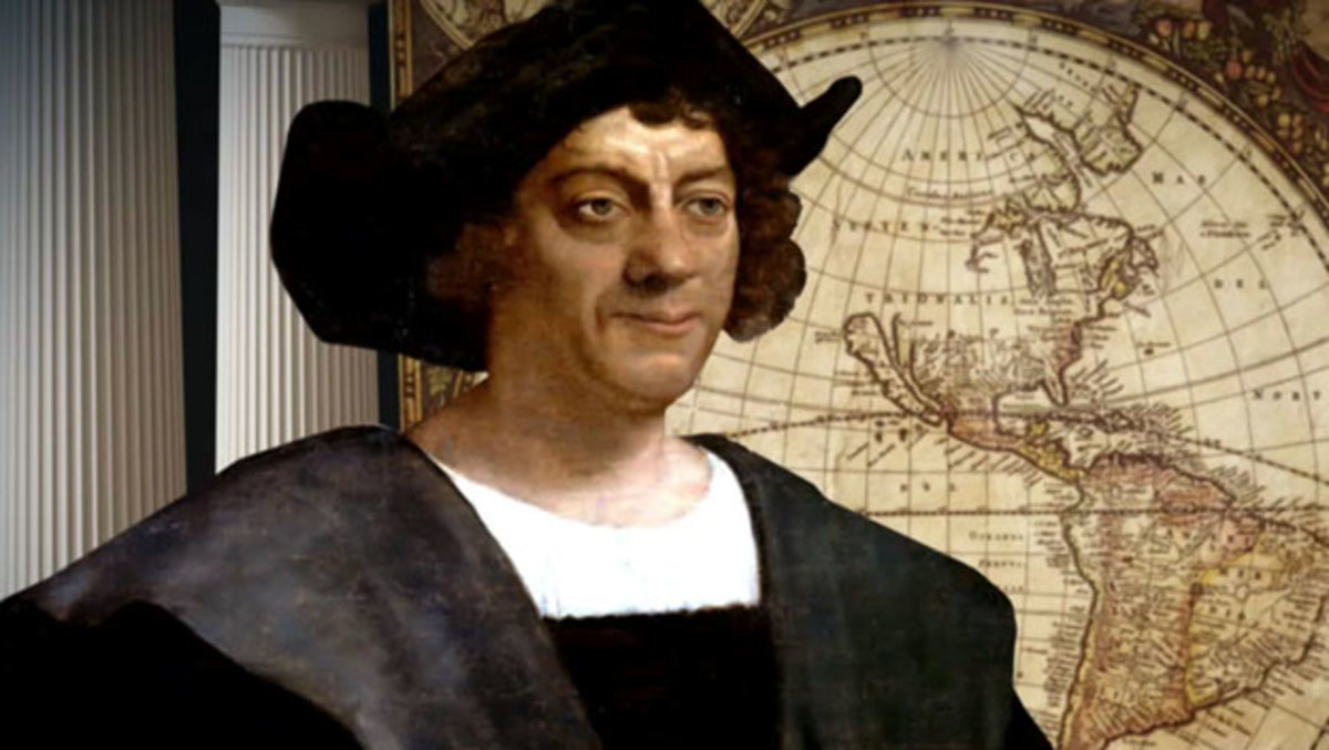 Christopher Columbus: A famous explorer of Renaissance, who discovered the Americas.
