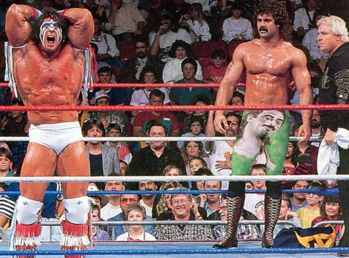 The Two Ultimate Warriors and 4 Other Imposter Wrestlers