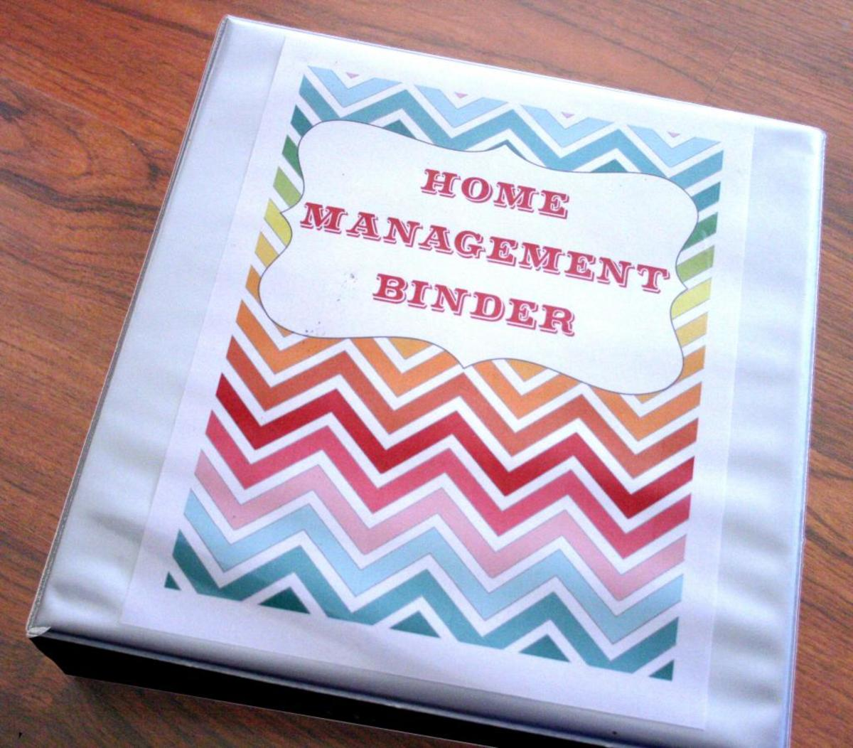 How to Create a Household Management Binder