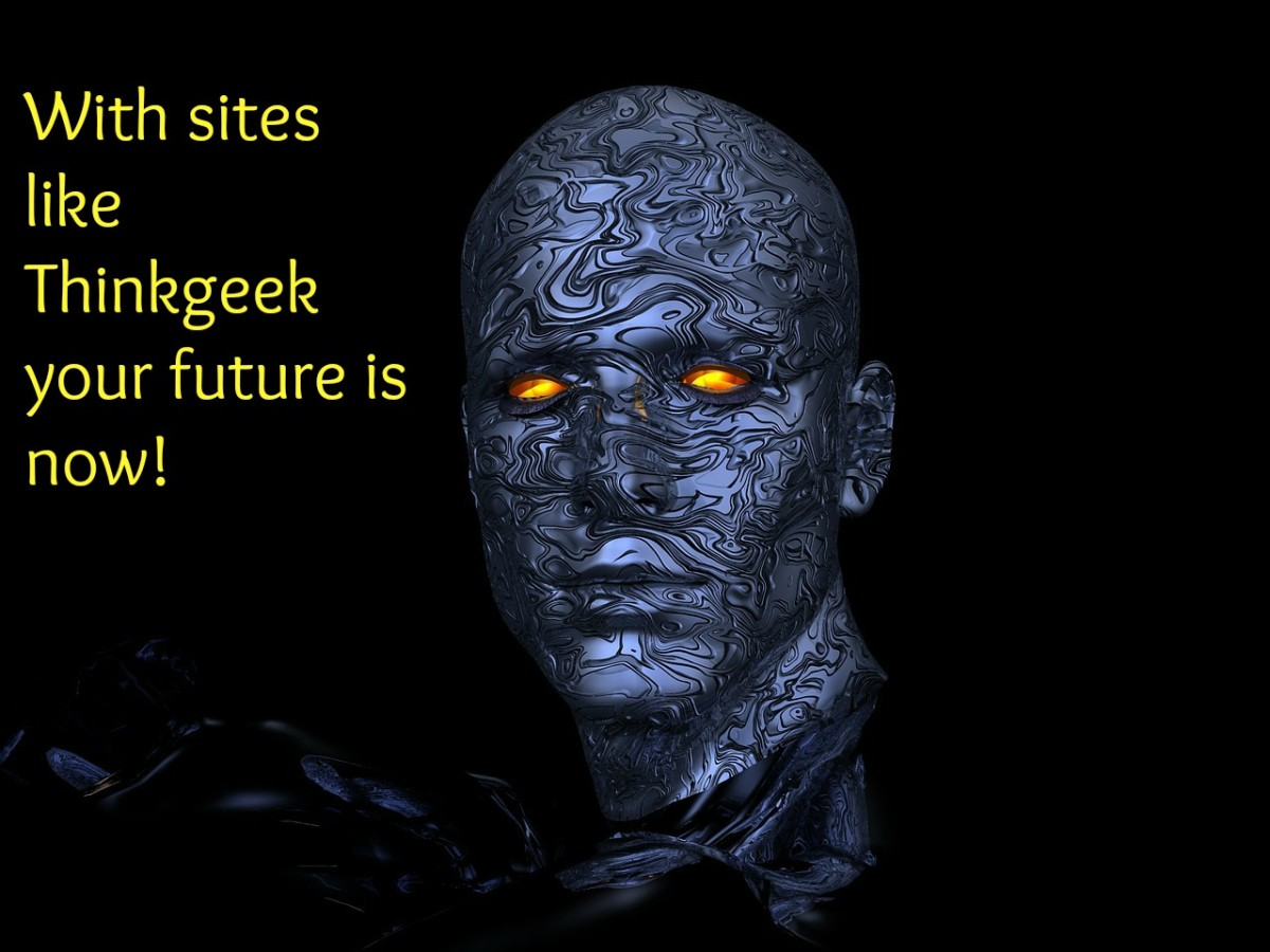 With sites like thinkgeek your future is now!