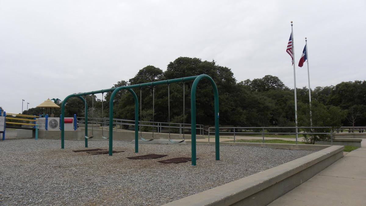 Play ground area  Dick Nichols Park Austin TX