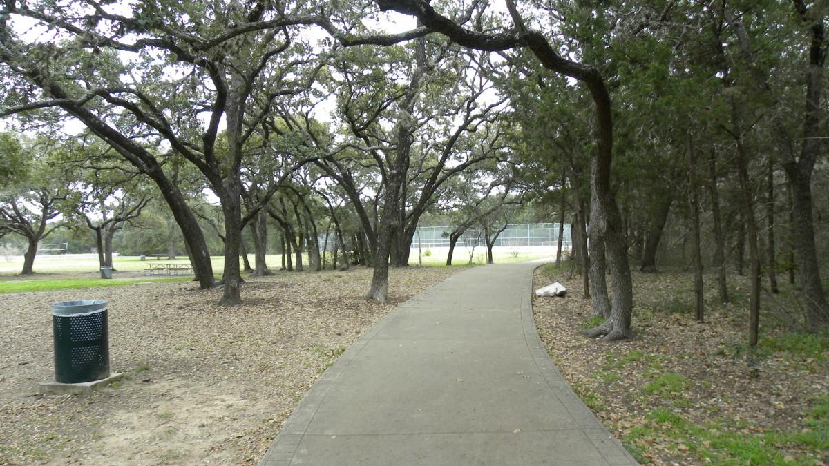 Walking Trails   Dick Nichols Park Austin TX