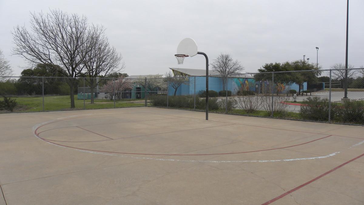 Basketball courts Dick Nichols Park Austin Tx