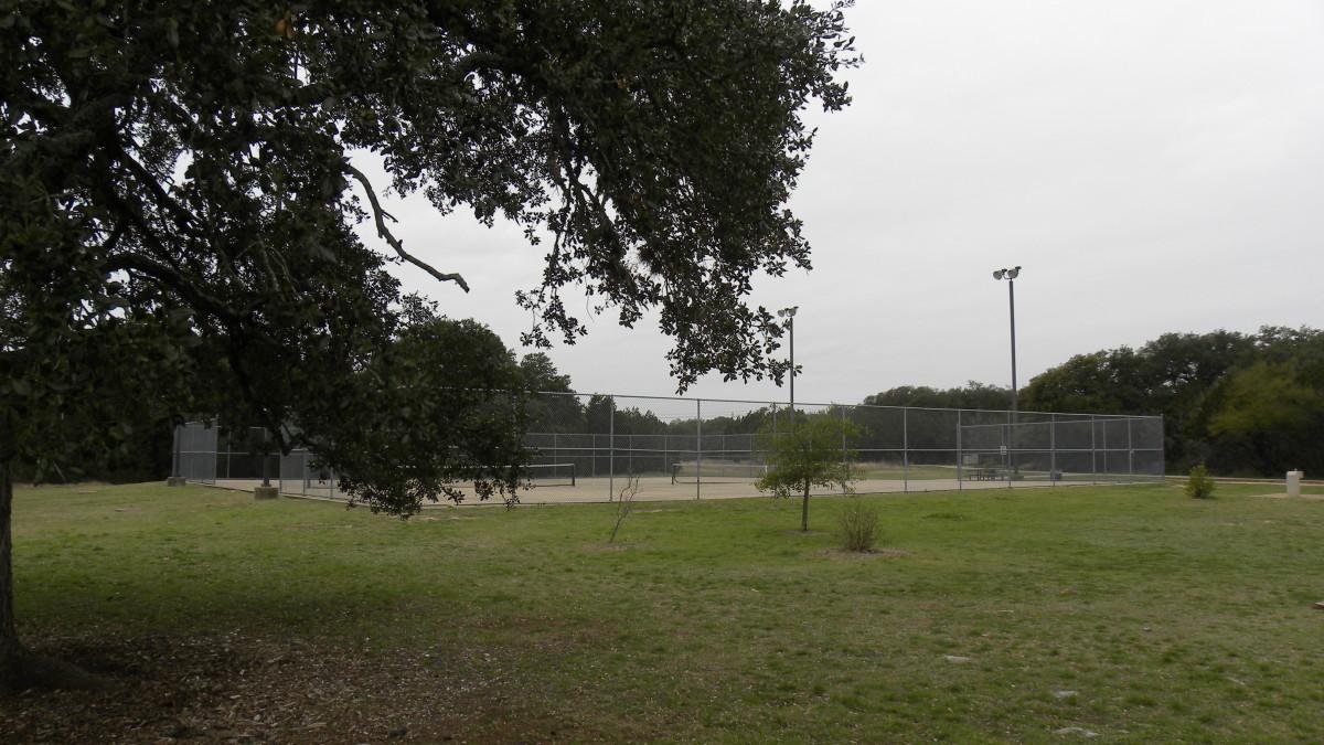 Tennis Courts  Dick Nichols Park Austin TX
