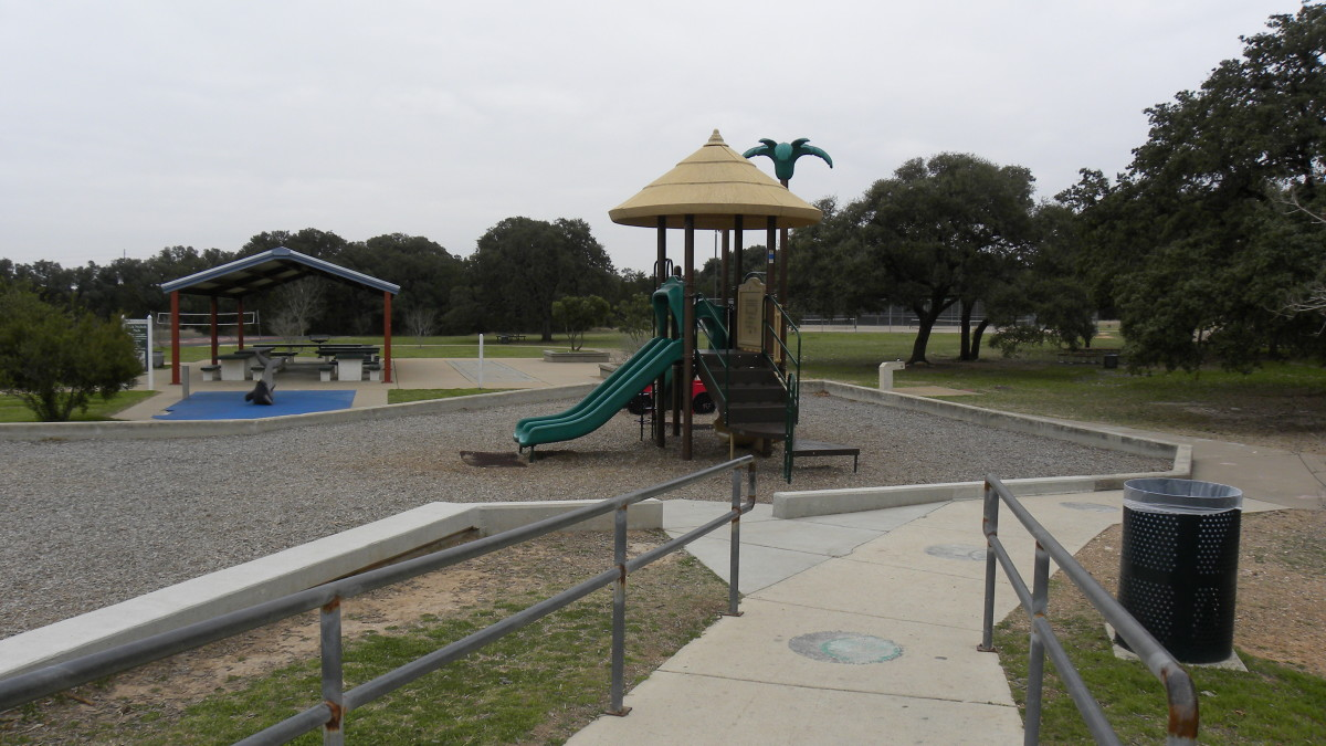 Playground  Dick Nichols Park Austin TX