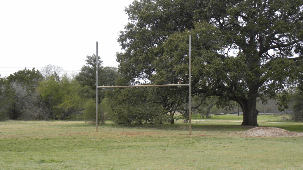 Football fields  Dick Nichols Park Austin TX