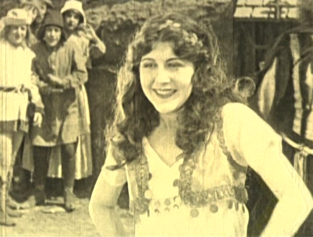 Patsy Ruth Miller as Esmeralda, 1923 Version  of The Hunchback of Notre Dame