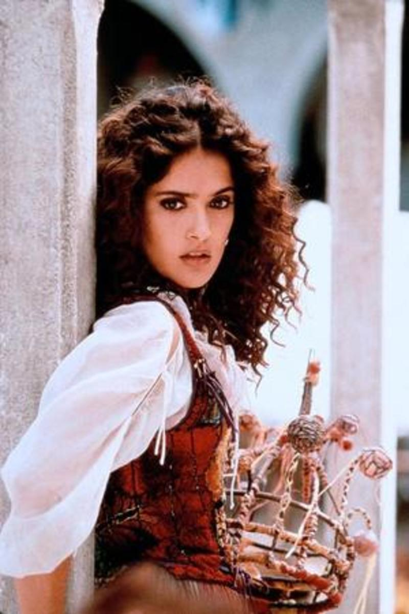 Salma Hayek as Esmeralda, 1997 The Hunchback