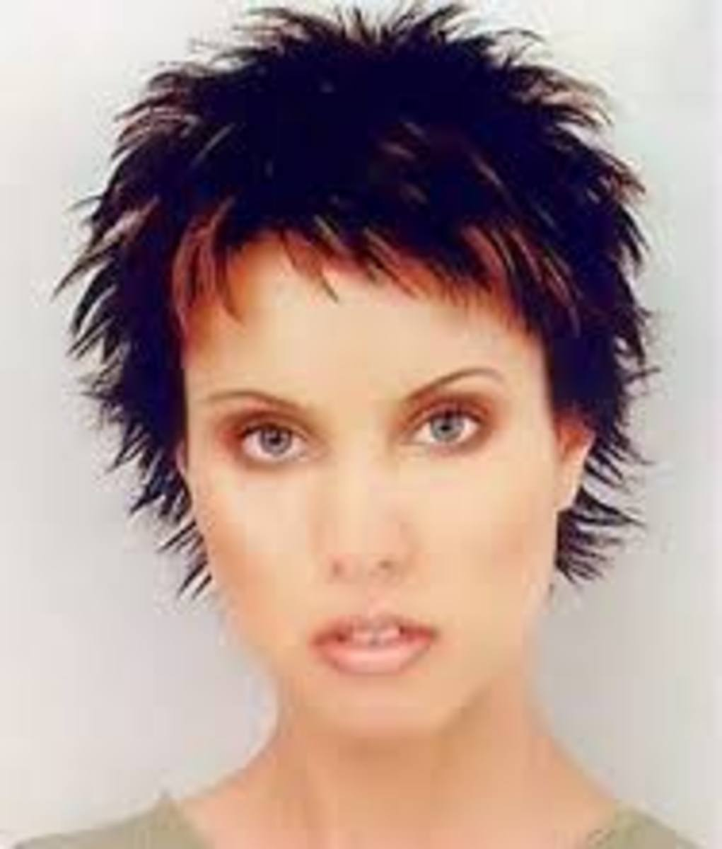 Spunky Spikes Short Hairstyle