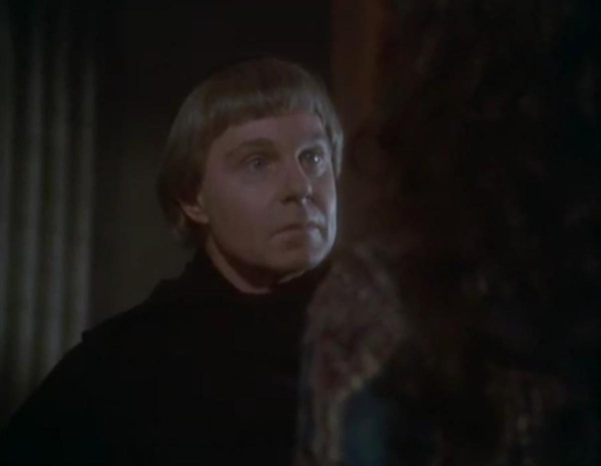 Derek Jacobi as Frollo, 1982 Version