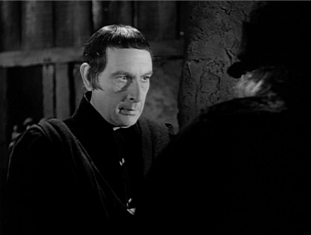 Sir Cedric Hardwicke as Frollo, 1939 Version