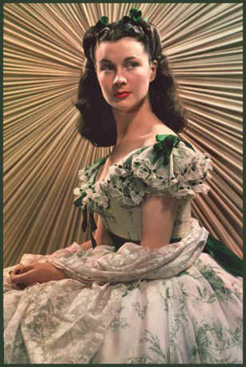 Vivien Leigh as Scarlett O'Hara, Gone with the Wind