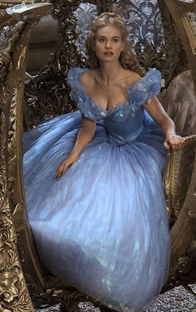 Lily James as Cinderella, Cinderella 2015