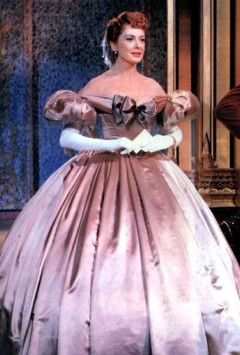 Deborah Kerr as Anna Leonowens, The King and I