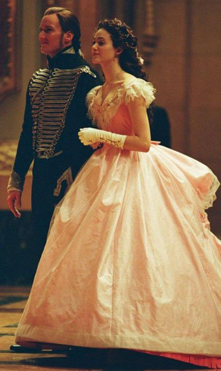 Emmy Rossum as Christine Daae, The Phantom of the Opera