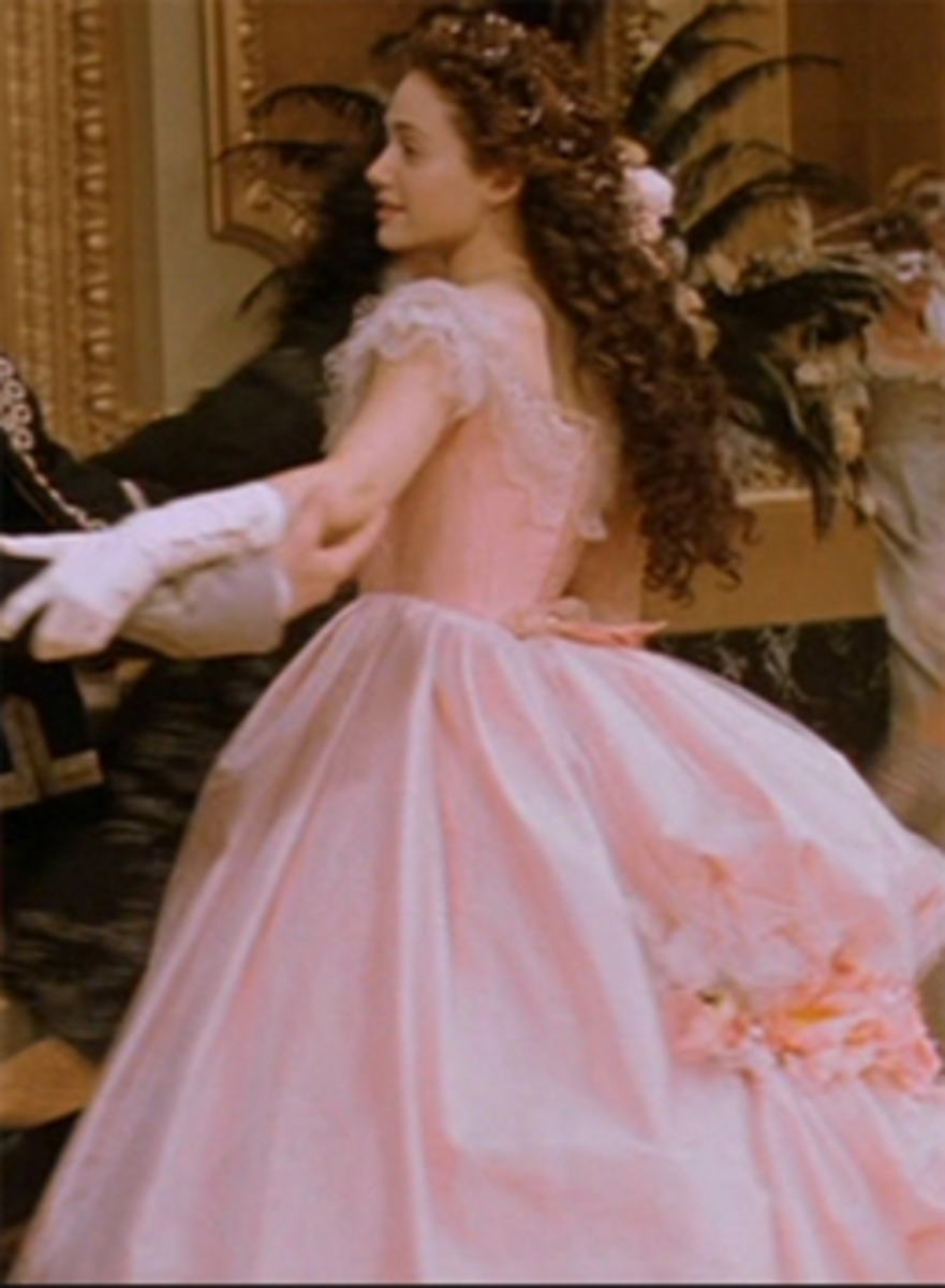 Emmy Rossum as Christine Daae, The Phantom of the Opera