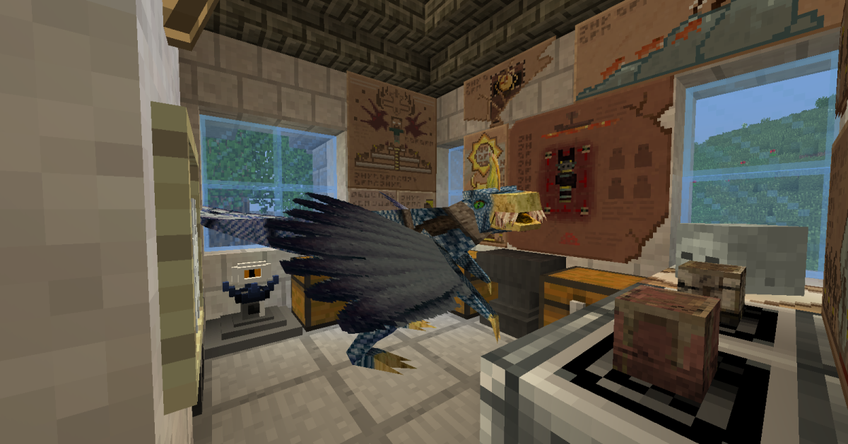 Players should make sure to keep any ride-able creatures such as ventoraptors inside of a stable, as they love to wander and can end up in the most awkward of places.