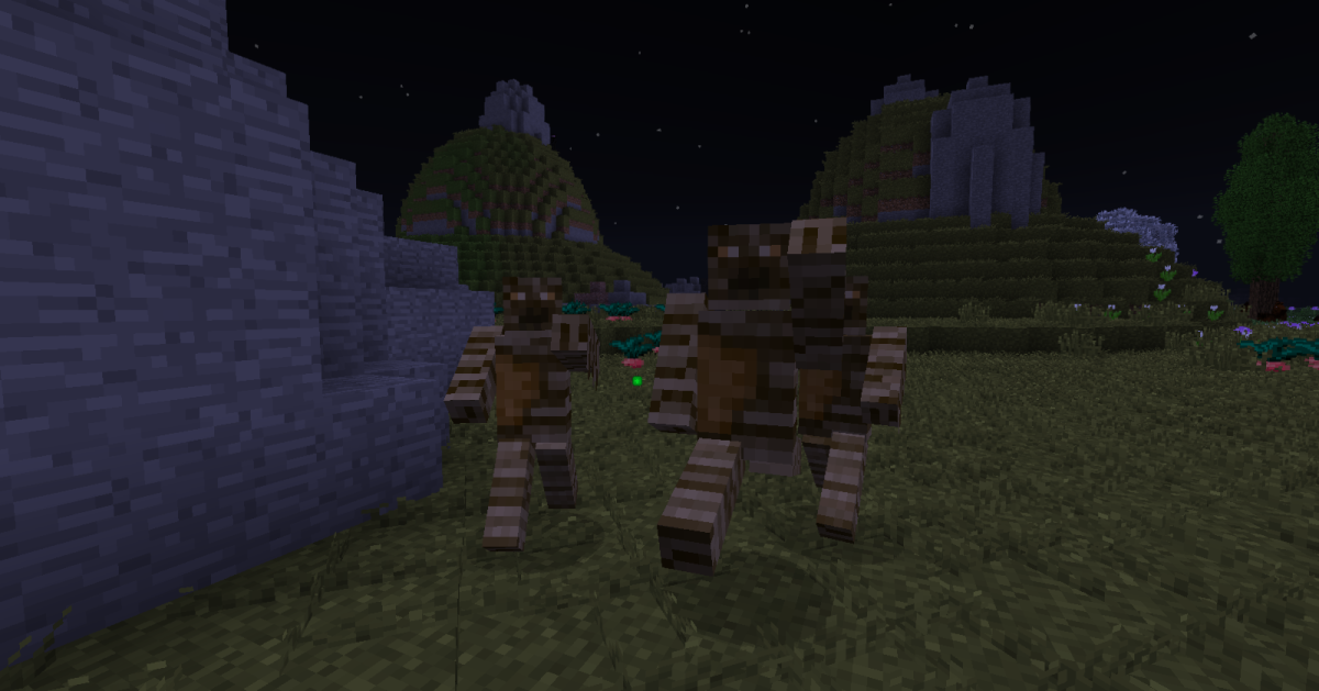 For the most part Lycanite's Mobs stays away from more common fantasy creatures, but it still has a few well-known monsters such as mummies and wargs.