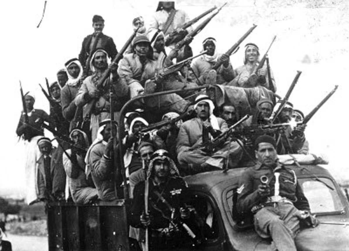 Foreign Arab Volunteer Fighters in the Jewish Homeland of Mandate Palestine