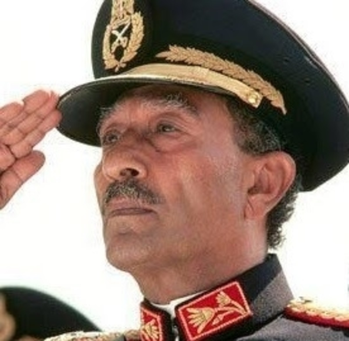Egypt President Muhammad Anwar El-Sadat