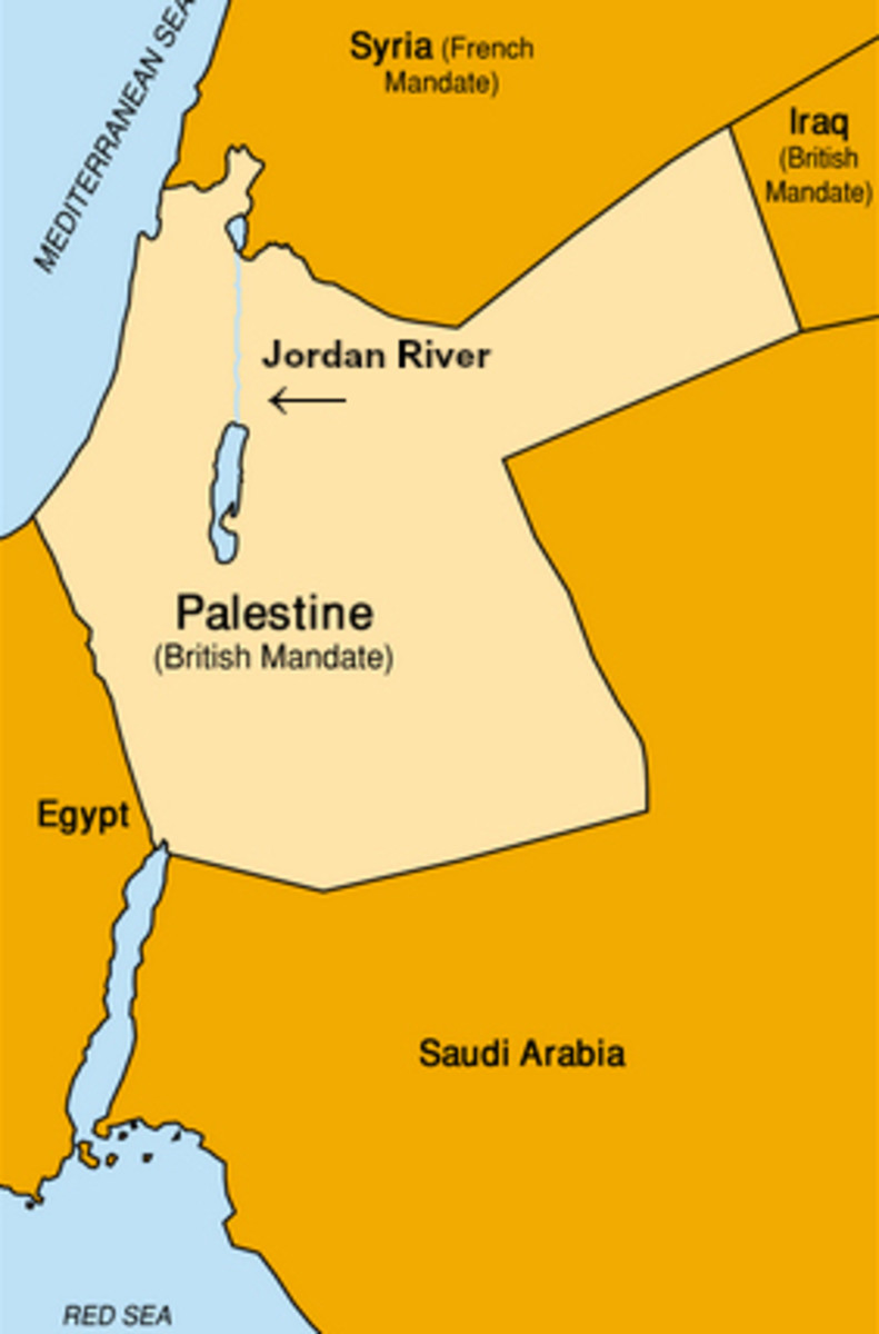 The British Mandate for Palestine, 1917