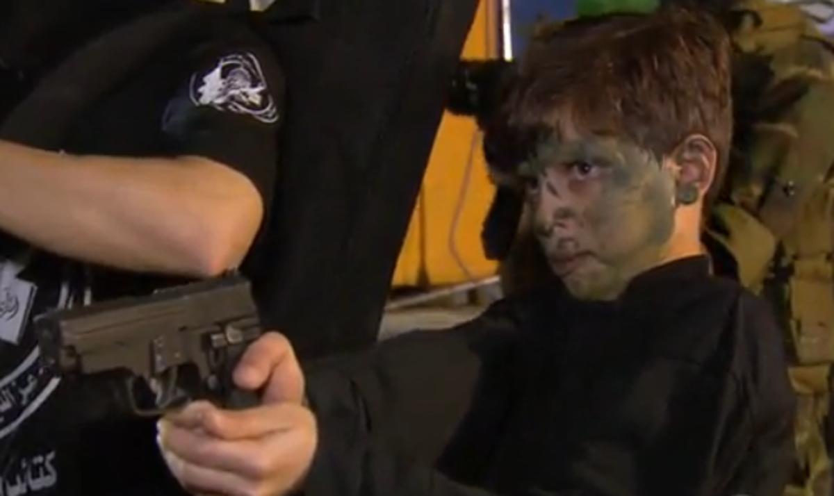 Hamas Training Palestinian Children in Terrorism, Gaza Strip, 2015