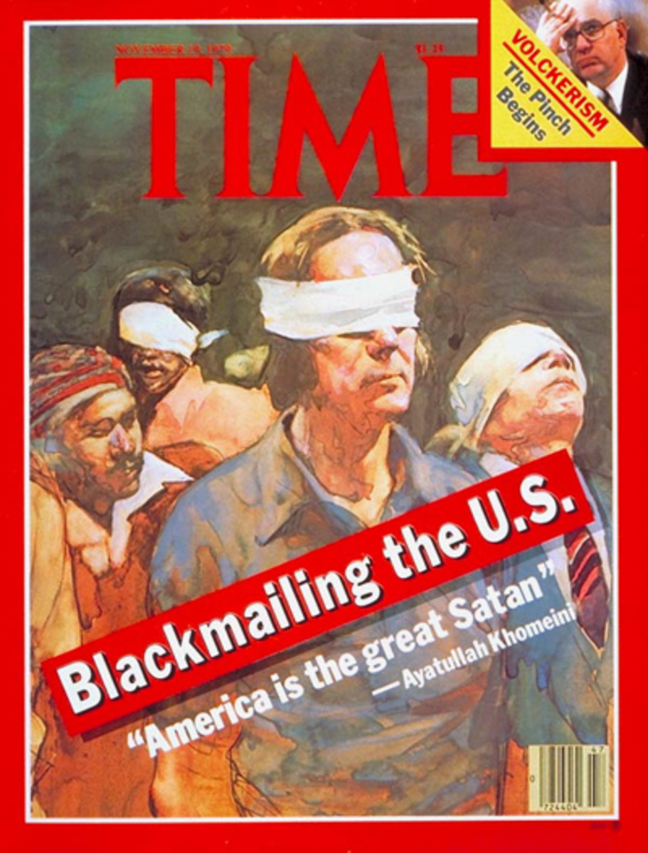 U.S. Hostages in Iran on Time Magazine Cover, November 19, 1979