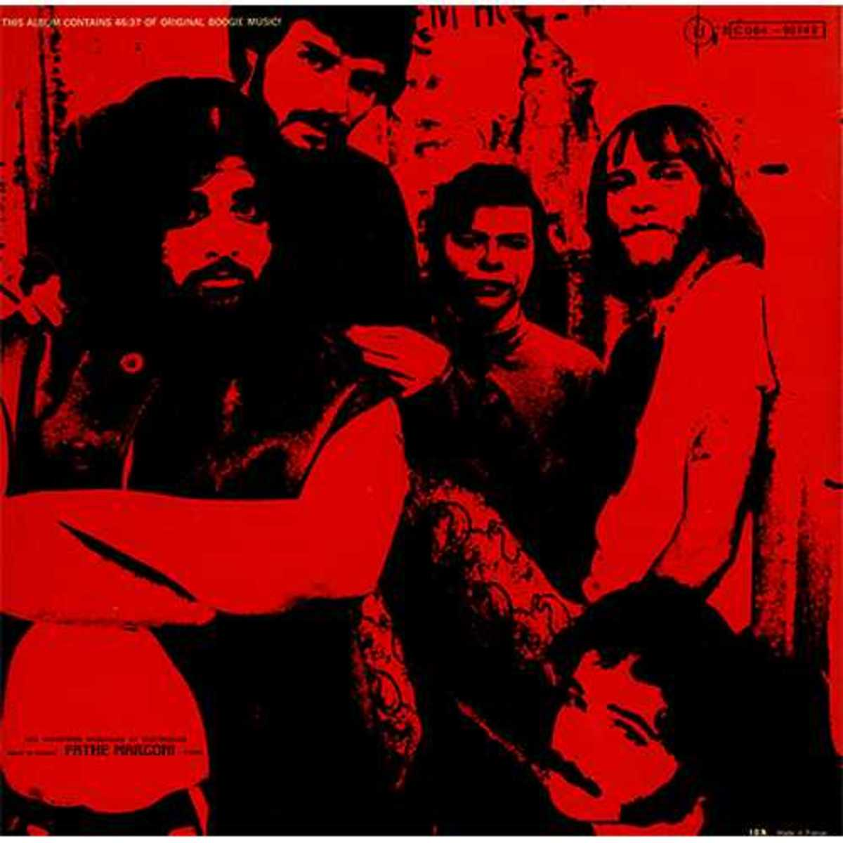 """Canned Heat """"Live at Topanga Corral"""" Wand Records WDS 693 (1970) Back Cover  -- Bob Hite, Alan Wilson"""