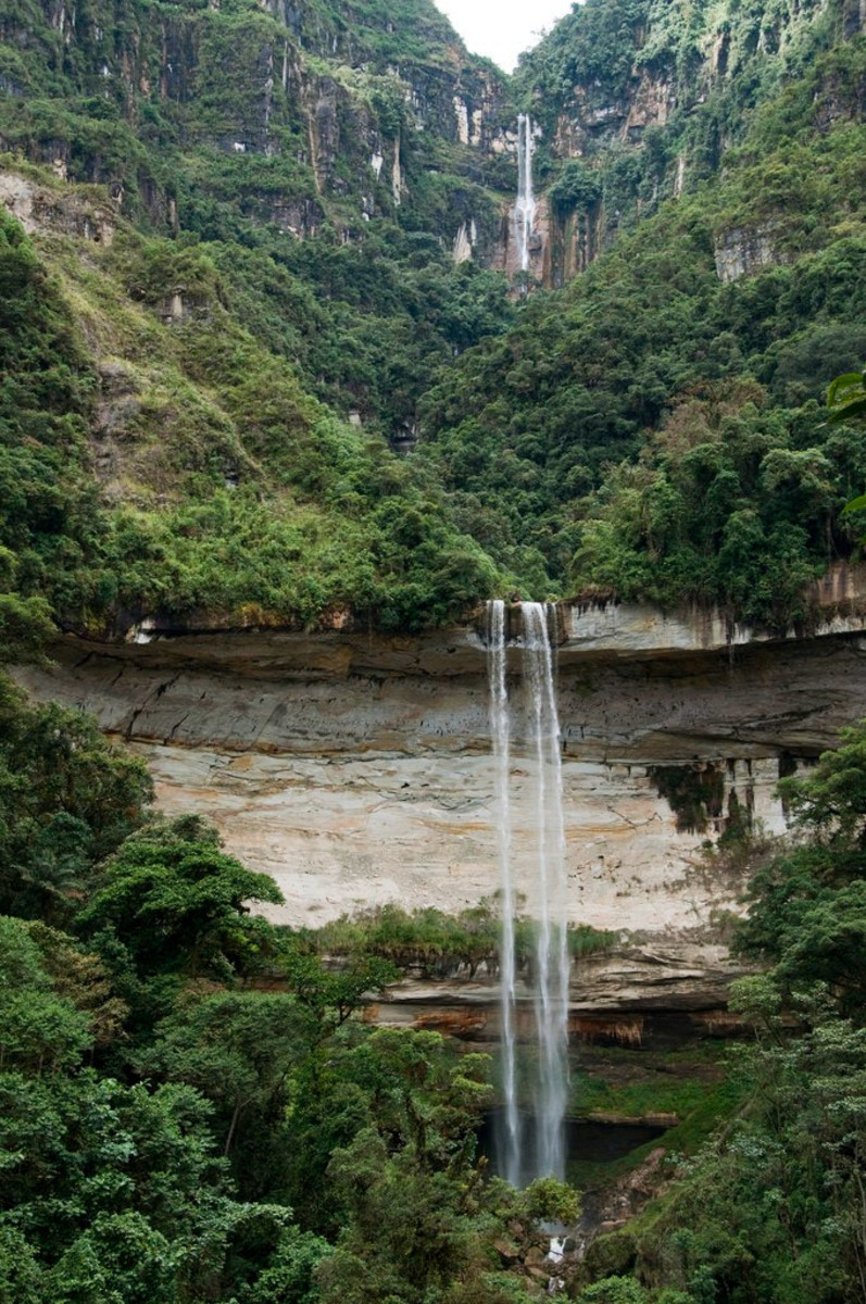 The Yumbilla Falls are made of an upper and lower falls which are both accessible by way of hiking in and out of the jungle. The falls are one of the few on the list which are accessible to most people and therefore should be visited if possible.