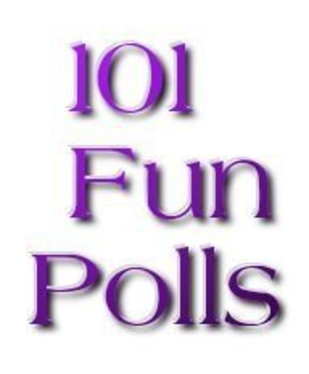 101 Fun Polls ★