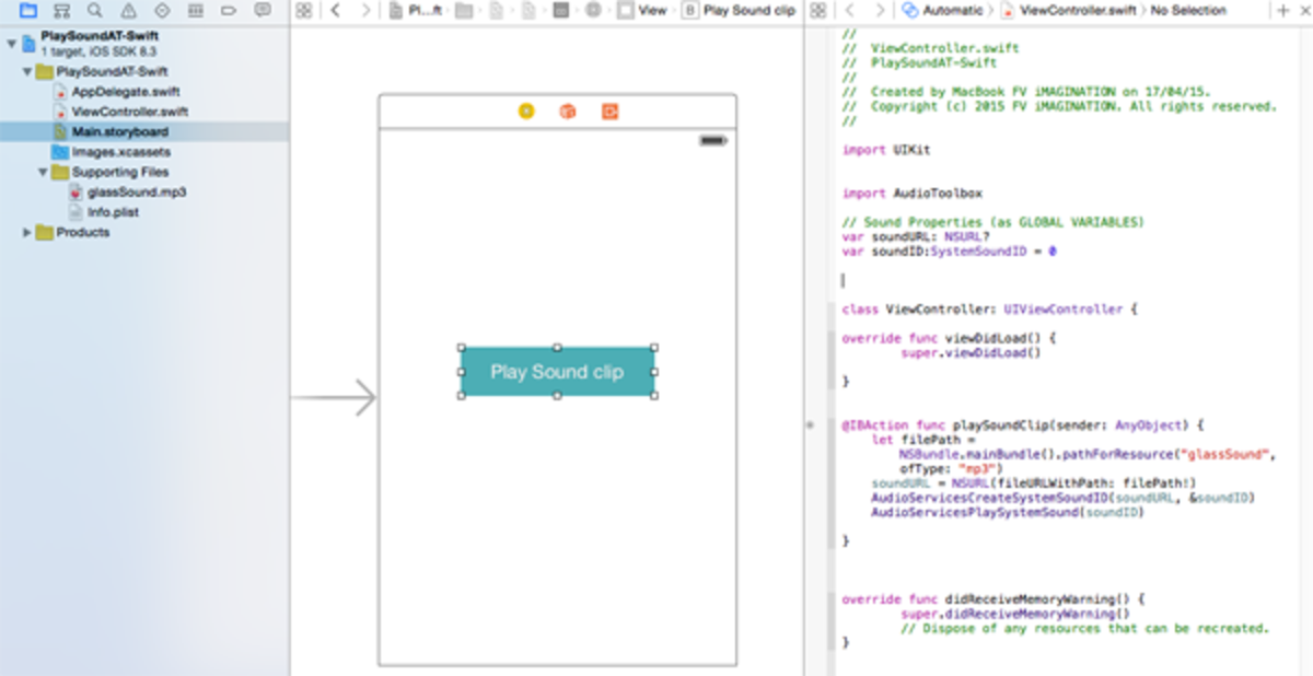 Demo XCode project