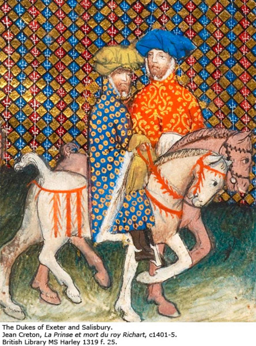 Duke of Exeter, John Holland, son of Joan Holland, Fair Maid of Kent.
