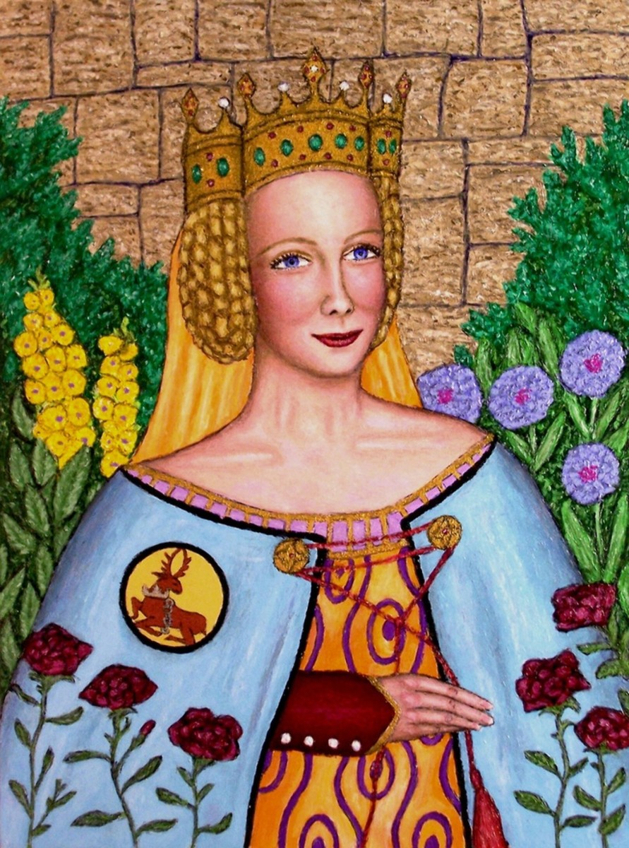 Joan of Kent; she jilted her second husband, Edward, Prince of Wales; not at the altar, but posthumously. She chose to be buried with her true love, John Holland. Edward rests alone.