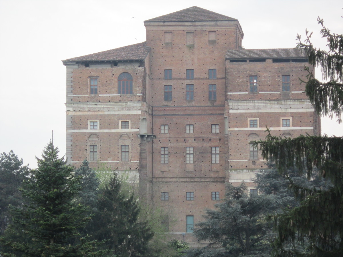 Palazzo Farnese in Piacenza, the North Side