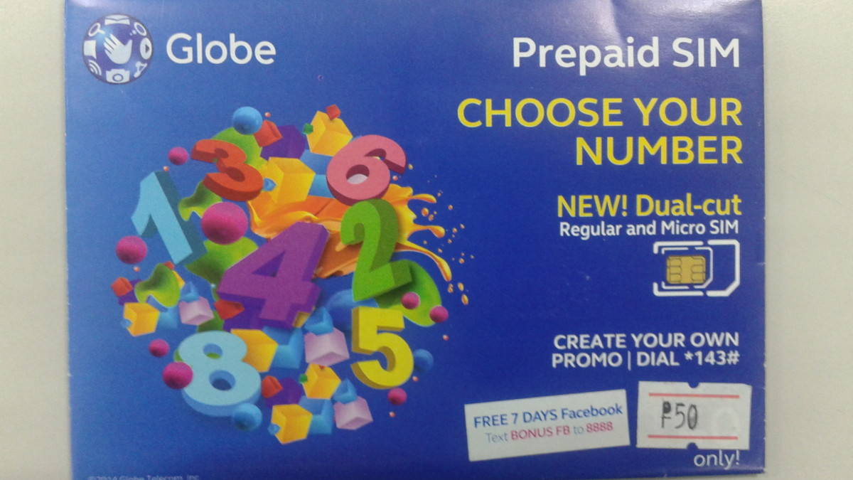 Choose Your Mobile Number – Globe!