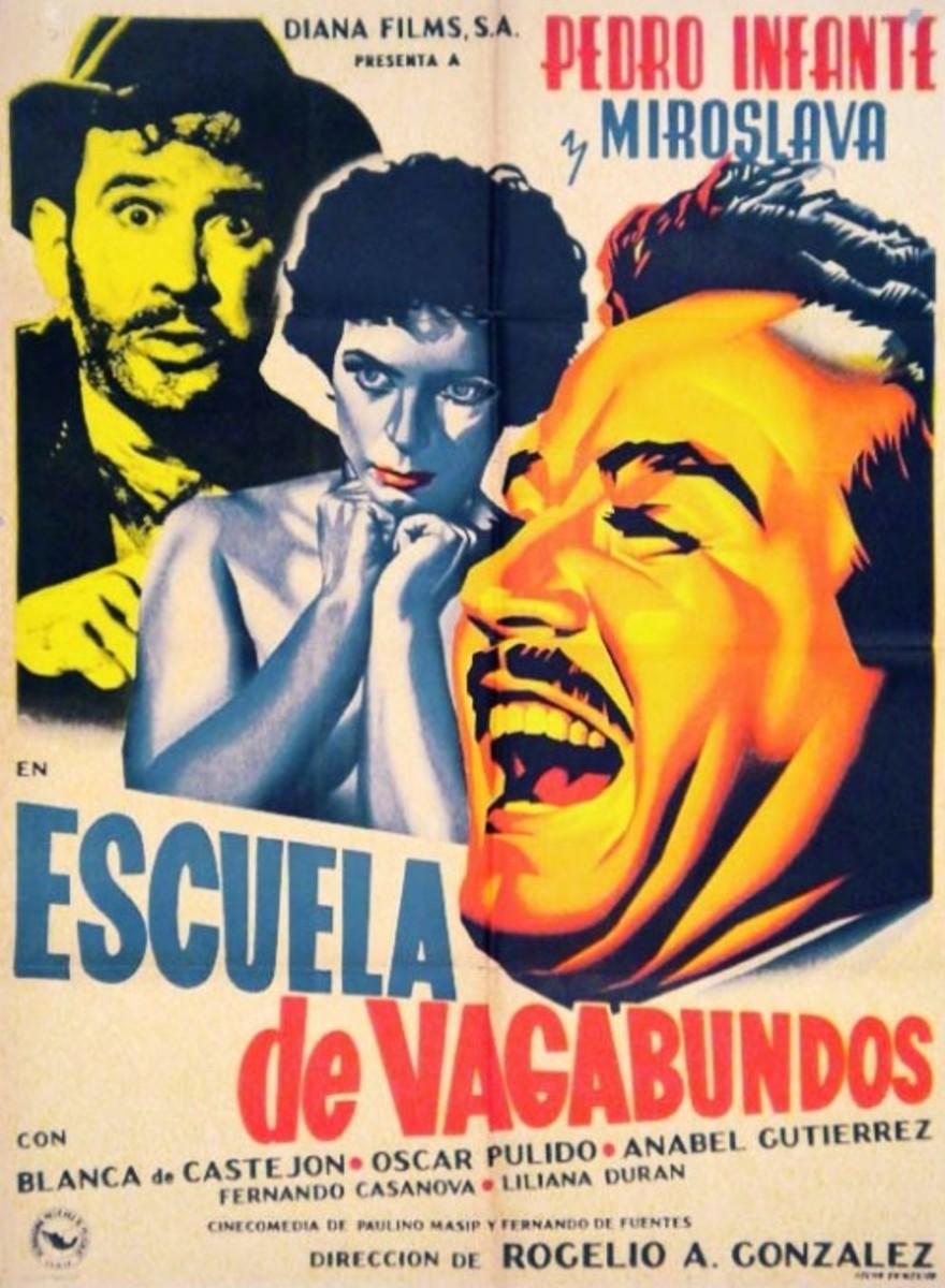 """""""Escuela de vagabundos"""" featuring Pedro Infante"""