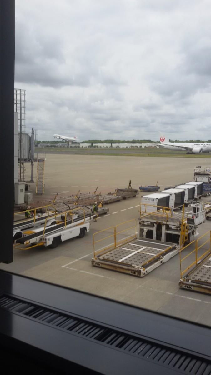 At Terminal 1 in Hanida Airport June 2019.